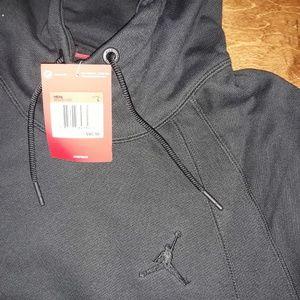 Men's JORDAN JSW Wings Fleece Pullover Hoodie sz L